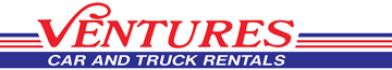 Ventures Car and Truck Rentals Logo